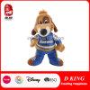 Custom Made Cool Plush Cartoon Dog Toy Stuffed Animal in Racing Suit