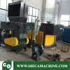 Single Shaft Shredder with Force Feeding for Rigid Plastic Lumps