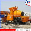 Kawasaki Main Oil Pump Portable Mini Trailer Concrete Pump with Drum Mixer