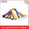 Custom Lanyard Silk Screen Printing Tube Polyester Lanyard Fabric