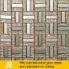 Golden and Silver Metal Mix Crytal Glass Mosaic for Wall
