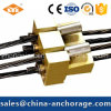 Customized Flat Anchorage Coupler for PC Strands