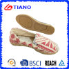 Fashion Flat and Comfortable Fisherman Sandals Lady Shoes (TN36707)