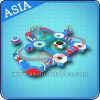 Lake Resort Inflatable Floating Water Park Games, Big Inflatable Aqua Park Equipment