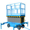 Construction Machinery Mobile Scissor Lift (Max Height 7m)