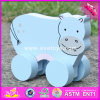 2017 Wholesale Baby Wooden Toy Cars High Quality Kids Wooden Toy Cars Best Design Animal Wooden Toy Cars W04A317
