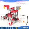 School Playground Plastic Slide Children Outdoor Playground Vs2-7029A