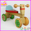 2015 New Style Kids Wooden Tricycle Toys, Safety Baby Tricycle, Ride on Car W16A003