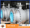 API6d Cast Steel Metal Seat Ball Valve
