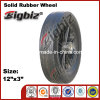 3 Inch Hot Sell Solid Rubber Wheel