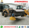 Snow Sweeper Machine Snow Broom Sweeper Wheel Loader with Euro 3 Engine Zl19