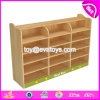 High Quality Kindergarten Wooden Storage Cabinets for Wholesale W08c229