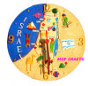 Israel Souvenirs Gifts of Polyresin Wall Clock