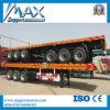 40 FT Tri Axle Flatbed Container Semi Trailer