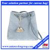 Latest Leisure Lady Handbag Bucket Bag with Canvas