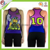 Fashion New Style Cheap Custom Printing Wholesale Cotton Women Singlet