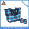 Ladies Promotion High Quality Polyester Reusable Shopping Foldable Tote Bag