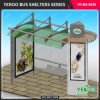 New Design Street Furniture Advertising Equipment Digital Bus Stop Shelter