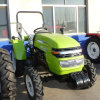 Huaxia CE/Coc Approved 35HP 4WD Wheel Tractor Equipped with Cabin/Canopy Tiller/Front Loader/Mower Attached
