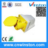 113-4, 123-4 3pin Industrial Switch Socket with CE