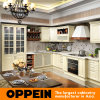 Oppein Euro L-Shape High Gloss PVC Wood Kitchen Cupboard (OP15-052)