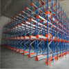 Semi-Automated Storage Solution Shuttle Rack Shelving for Warehouse