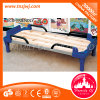 Safe Folding Plastic Bed Nursery Wooden Sleeping Bed with Guard