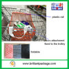 Oxford Waterproof Grocery Foldable Recycle Trolley Shopping Bag