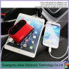 High Quality 3 Port USB Car Charger with on off Switch and Cigarette Lighter