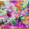 8m/M Silk Ggt Print in Flower Design