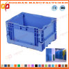 Plastic Foldable Supermarket Vegetable Display Container Box (ZHtb32)