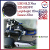 5kw 48V/72V/96V BLDC Brushless Electric Motorbike Motor