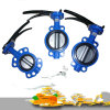 Wafer Type Cast Iron EPDM Butterfly Valve