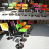 Bright Color Swivel Faux Leather Club Coffee Bar Stool (FS-B8260)