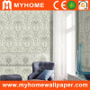 High Grade Interior Decorative Wallpaper with Flowers (GP05091)