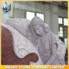 Gravestone Carved Angel in Sorrow Design Headstone