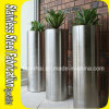 OEM Cylinder Stainless Steel Planters Wholesale