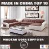 Genuine Leather and U Shaped Corner Sofa for Living Room