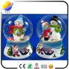 Home Decoration Christmas Resin Snow Man Snow Ball