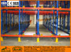 Automatic Radio Shuttle Pallet Rack for Warehouse Storage with High Quality