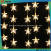 5m Hanging White Color LED String Light with Star Decoration
