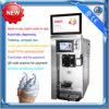 Table top single flavor automatic vending ice cream machine with remote monitoring system