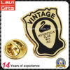 Good Quality Gold Plated Metal Motorcycle Lapel Pin