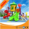 Customized Colorful Outdoor Playground with Rotational Slide and Straight Slide