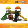 Children Playground Equipment with Enclosed Bones Bridge