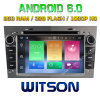Witson Eight Core Android 6.0 Car DVD for Opel Vectra (2005-2008) Antara (2006-2011)