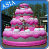 Giant Inflatable Cake Inflatable Balloon Cake Helium Balloon for Advertising