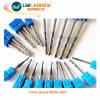 Carbide Flat Ball Nose End Mill 4 Flutes HRC 45 60
