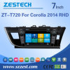 Zest Car Audio with Wince Version for Corolla Rhd 2014 (ZT-T720)