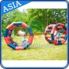 Colorful Inflatable Ground Roller Game for Park Games